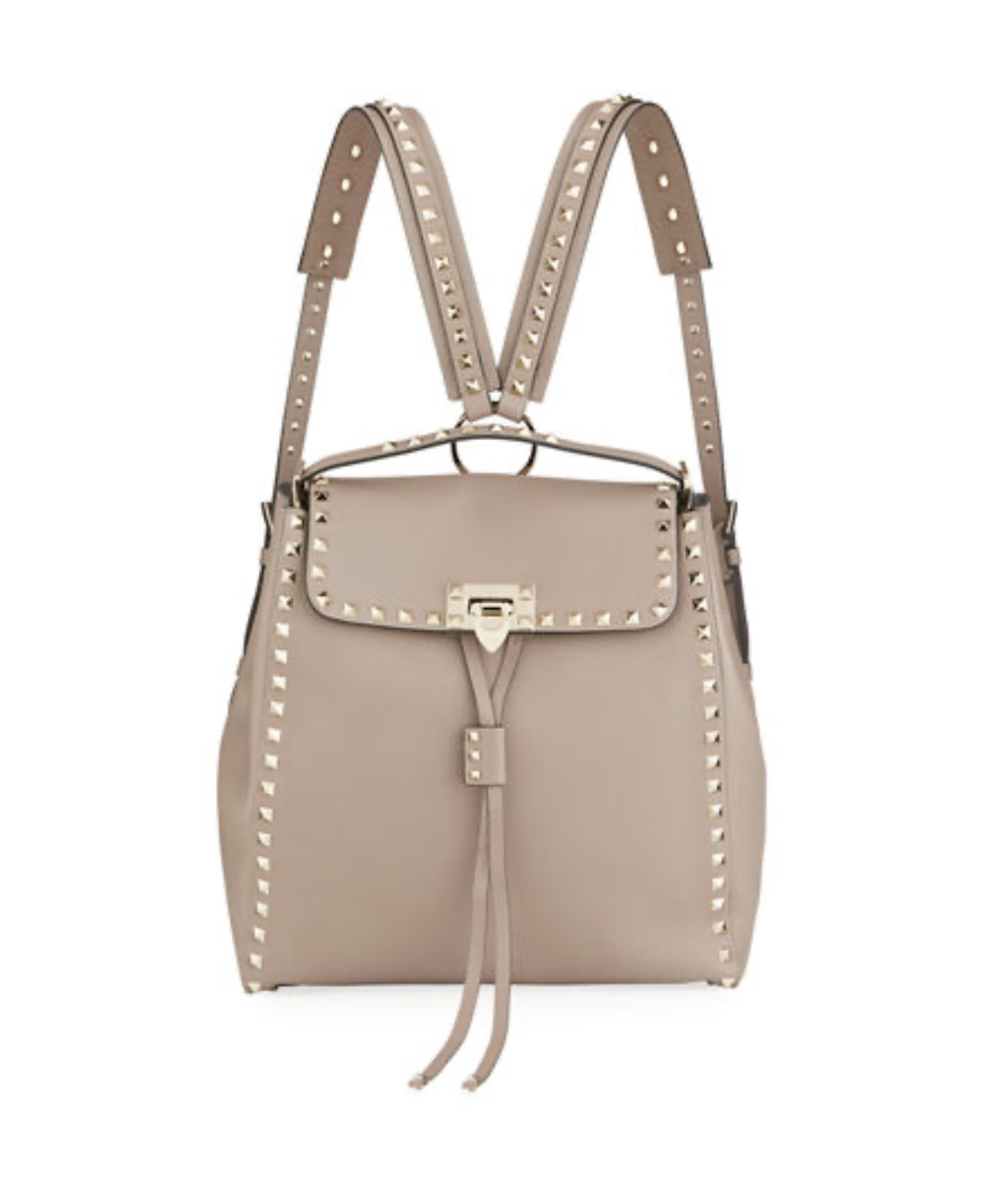 VALENTINO GARAVANI Rockstud Vitello Stampa Backpack