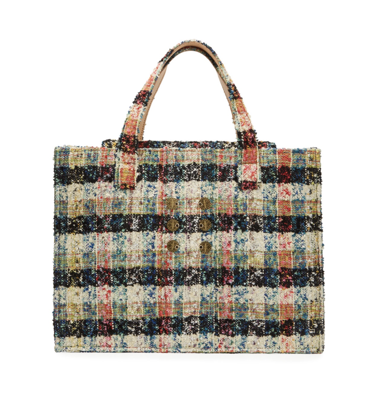 KOORELOO Tweed Book Tote Bag