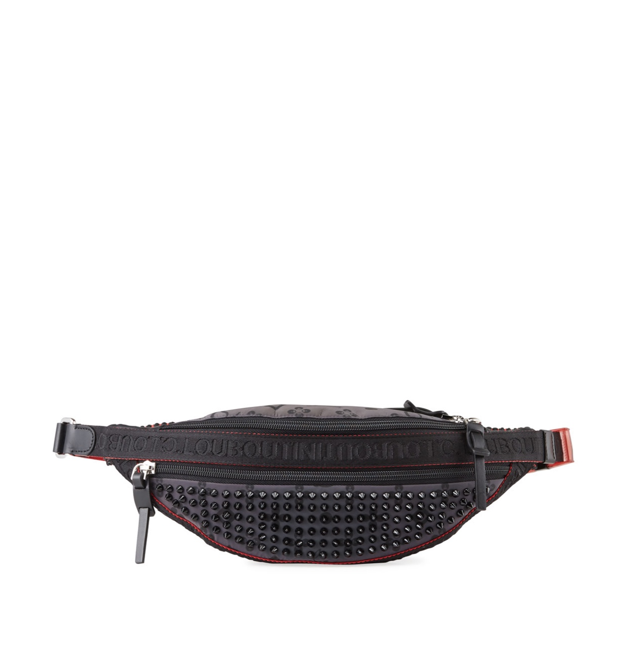 CHRISTIAN LOUBOUTIN Men's Paris NYC Spiked Belt Bag
