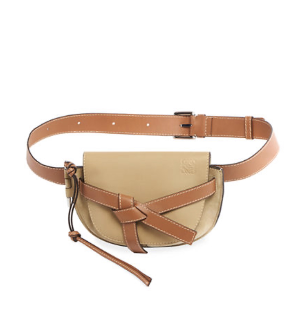 LOEWE Men's Gate Large leather belt bag