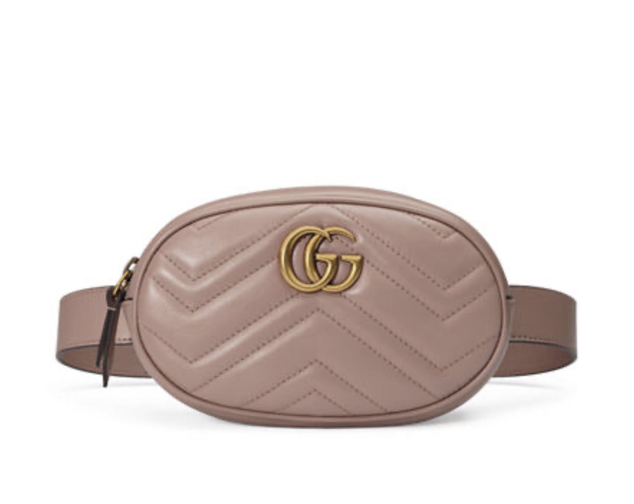 GUCCI Marmont small matelasse leather belt bag